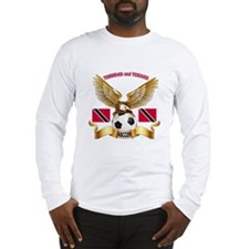 Trinidad and Tobago Football Design Long Sleeve T-