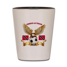 Trinidad and Tobago Football Design Shot Glass