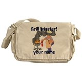 Personalized Grill Master Messenger Bag