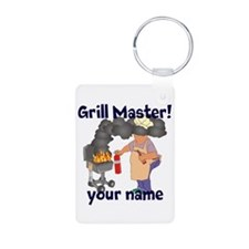 Personalized Grill Master Keychains