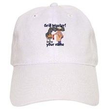 Personalized Grill Master Baseball Cap