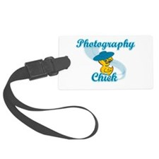 Photography Chick #3 Luggage Tag