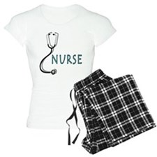 Nurse with stethescope pajamas