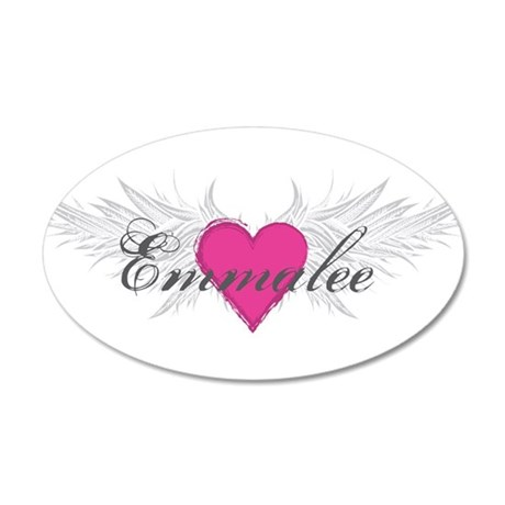 My Sweet Angel Emmalee 20x12 Oval Wall Decal