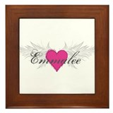 My Sweet Angel Emmalee Framed Tile