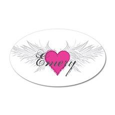 My Sweet Angel Emery 20x12 Oval Wall Decal