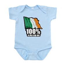 St Patricks Day - Proud to be Irish Infant Bodysui