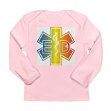 ED multicolor Long Sleeve Infant T-Shirt