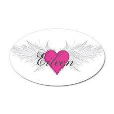 My Sweet Angel Eileen 35x21 Oval Wall Decal