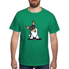 KiniArt Tricolor Corgi T-Shirt