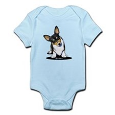 KiniArt Tricolor Corgi Infant Bodysuit