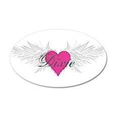 My Sweet Angel Dixie 20x12 Oval Wall Decal