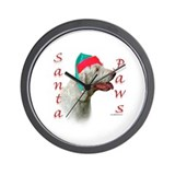 Santa Paws Spinone Italiano  Wall Clock