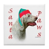 Santa Paws Spinone Italiano Tile Coaster
