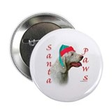 Santa Paws Spinone Italiano Button
