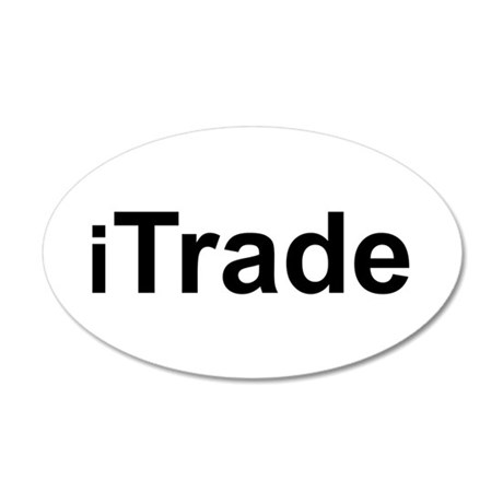 iTrade.png 35x21 Oval Wall Decal