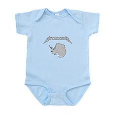 Antarctica - Metalllica Infant Bodysuit