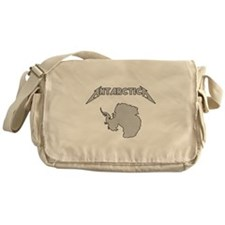 Antarctica - Metalllica Messenger Bag