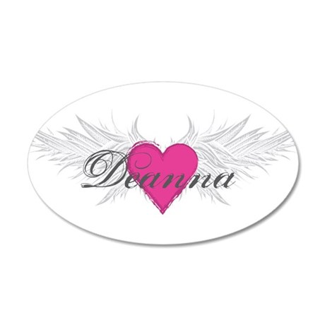 My Sweet Angel Deanna 35x21 Oval Wall Decal