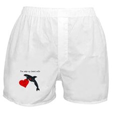 Personalized Whale Boxer Shorts