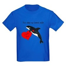 Personalized Whale T