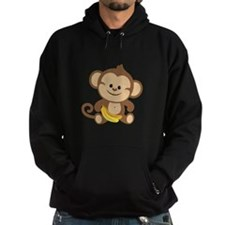 Cute Cartoon Monkey Hoodie