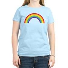 Cool retro graphic rainbow design T-Shirt