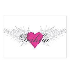 My Sweet Angel Dahlia Postcards (Package of 8)