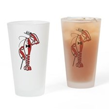 Rocky Lobster Drinking Glass