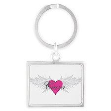 My Sweet Angel Ciara Landscape Keychain