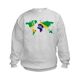 Brazil FlagWorld Sweatshirt