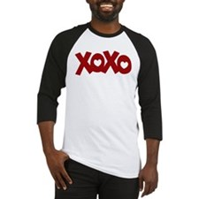 Hugs Kisses Hearts Baseball Jersey