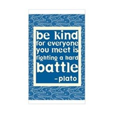 Be Kind - Inspirational Decal