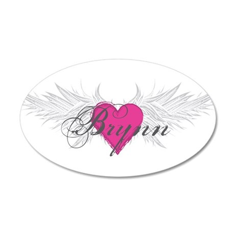My Sweet Angel Brynn 20x12 Oval Wall Decal