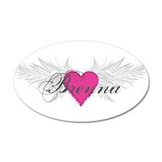 My Sweet Angel Brenna 20x12 Oval Wall Decal