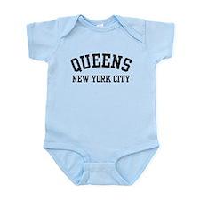 Queens New York City Infant Bodysuit
