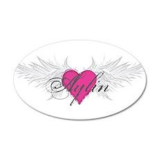 My Sweet Angel Aylin 35x21 Oval Wall Decal