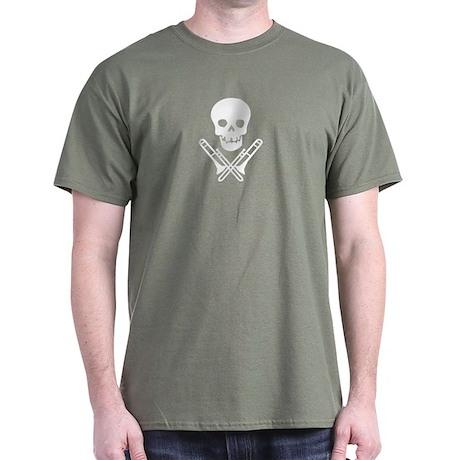 skull & trombones tee