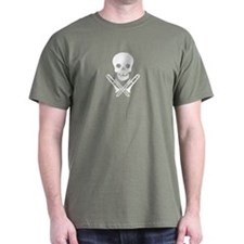 skull & trombones tee