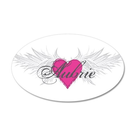 My Sweet Angel Aubrie 20x12 Oval Wall Decal