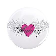 """My Sweet Angel Aubrey 3.5"""" Button (100 pack)"""