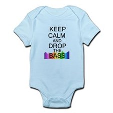Keep Calm and Drop The Bass Infant Bodysuit