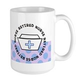 retired nurse I Mug