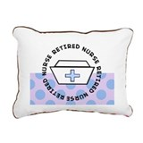 Retired Nurse H Rectangular Canvas Pillow