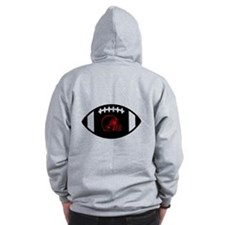 Football Zipped Hoody