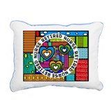 Retired Nurse C Rectangular Canvas Pillow