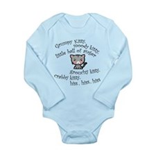 Grumpy Kitty Long Sleeve Infant Bodysuit
