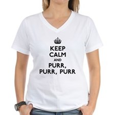 Keep Calm and Purr Purr Purr Shirt