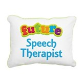 Future Speech Therapist Rectangular Canvas Pillow