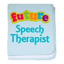 Future Speech Therapist baby blanket